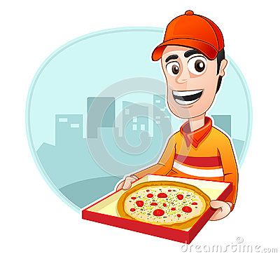 Occupation : Pizza delivery