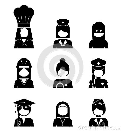 Occupations Design Stock Vector Image 40877914