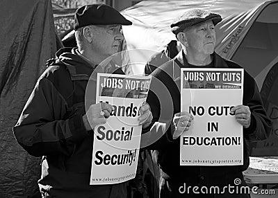 Occupy Boston Editorial Photography