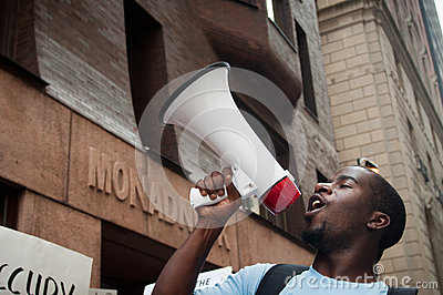 Occupy Chicago Editorial Stock Image