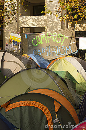 Occupy London Editorial Image