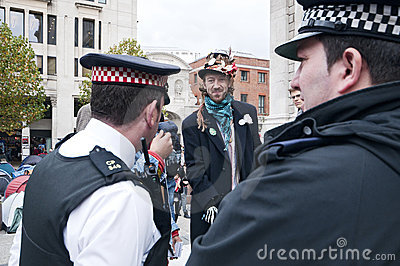 Occupy London protesters Editorial Photography