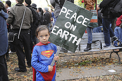 Occupy Toronto Editorial Stock Image