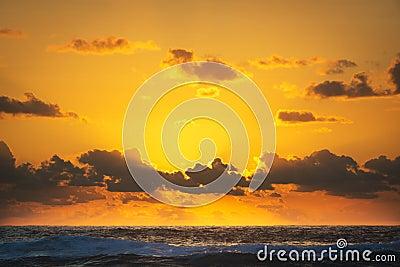 Oceaanzonsopgang