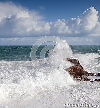 Ocean at Biarritz