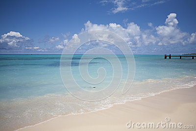 Ocean and Blue Sky
