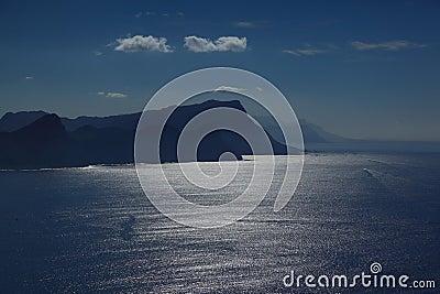 Ocean at cape