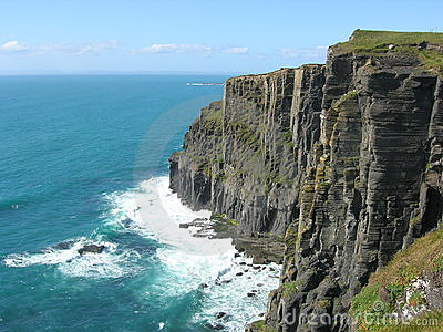 Ocean Cliff Royalty Free Stock Images - Image: 5862429 Cliffs Of Moher
