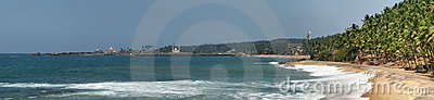 Ocean coast (panorama)