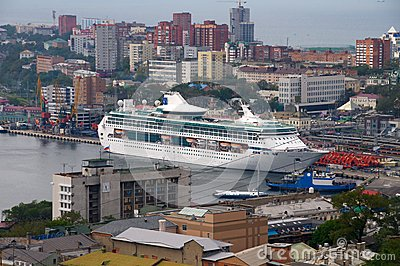 Ocean cruise liner Editorial Image