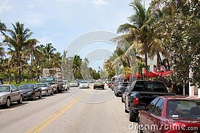 Ocean Drive Editorial Image
