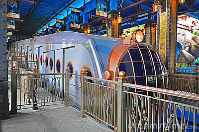 Ocean express at ocean park, hong kong Editorial Stock Photo