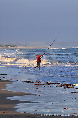 Ocean fishing Editorial Stock Image