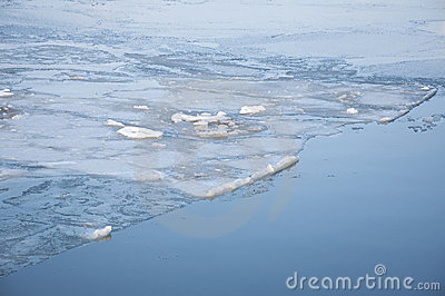 Ocean and ice