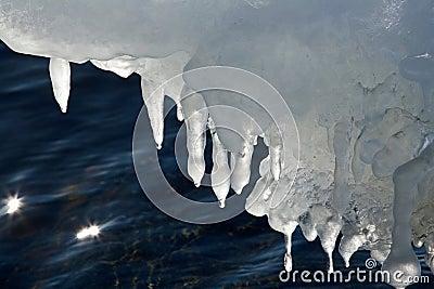 Ocean in ice