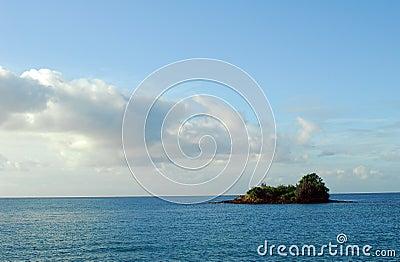 Ocean and Island