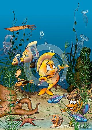 Free Ocean Life Royalty Free Stock Image - 20802316