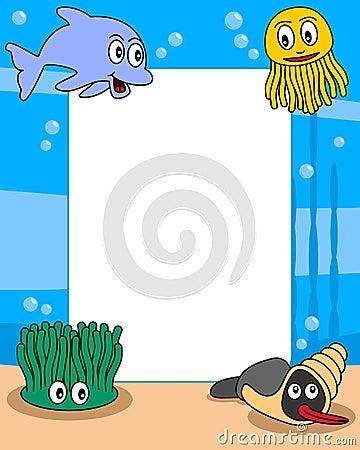 Ocean Life Photo Frame [1]