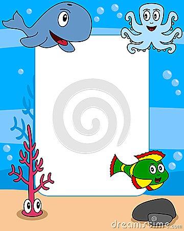 Ocean Life Photo Frame [2]