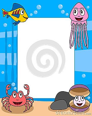 Ocean Life Photo Frame [3]