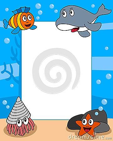 Ocean Life Photo Frame [4]