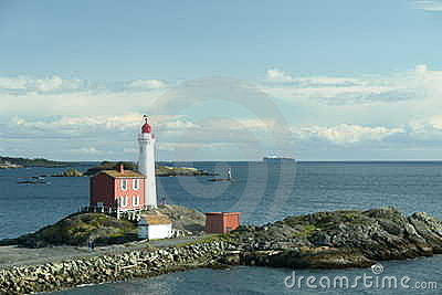 Ocean Lighthouse Victoria Canada