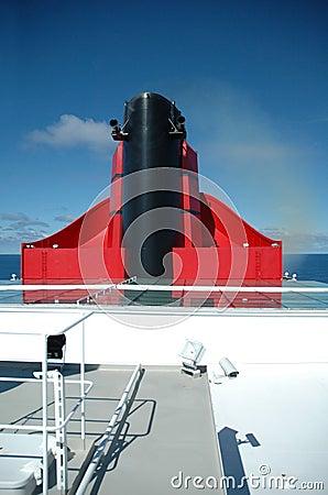 Ocean Liner Funnel