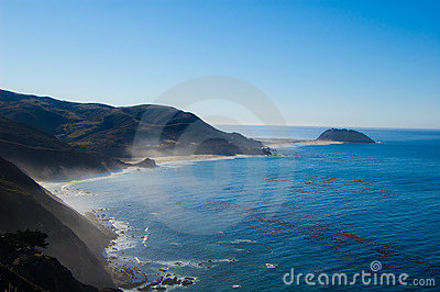 Ocean linia brzegowa