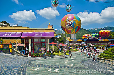 Ocean park hong kong Editorial Stock Image