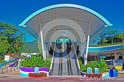 Ocean Park hong kong entrance Editorial Stock Photo