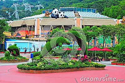 Ocean park hong kong Editorial Stock Photo