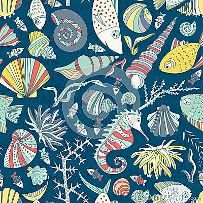 Free Ocean Pattern Stock Images - 49769344