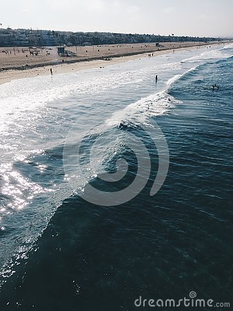 Free Ocean Picture Of The California Coast Stock Images - 143208994
