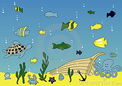 Ocean and sea life