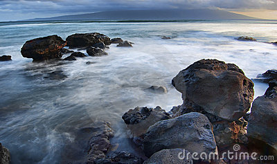 Ocean sea rocks