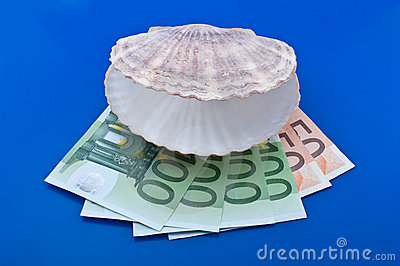 Ocean shell and euro