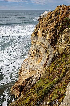 Ocean Shore Cliff