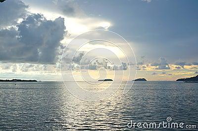 Ocean and sky view