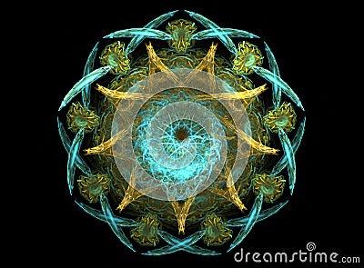 Ocean star mandala