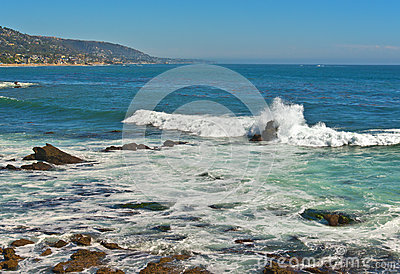 Ocean Surf, Laguna Beach California
