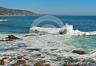 Ocean Surf, Laguna Beach California