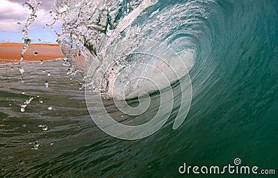 Ocean Surf Wave