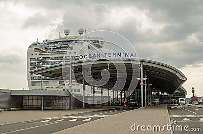 Ocean terminal southampton editorial photography image - Southampton airport to southampton port ...