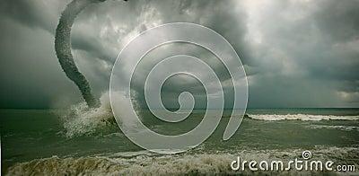 Ocean tornado