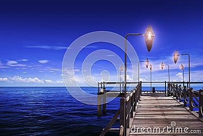 Ocean & Trestle