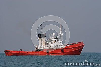 Ocean tugboat