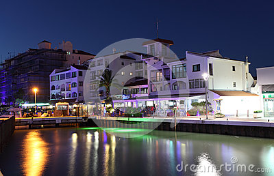Ocean Village marina, Gibraltar Editorial Image