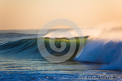 Ocean Wave Sunrise Backlight