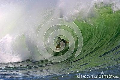 Ocean Wave Surfing