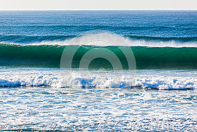 Ocean Wave Upright Wall